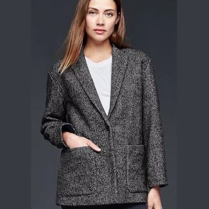 Gap Herringbone Lined Blazer Size XL